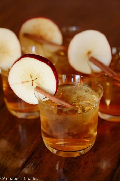 Bourbon Cider Ginger cocktail | JJ Keras Lifestyle
