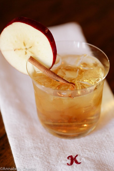Bourbon Cider Ginger cocktail | JJ Keras Lifestyle