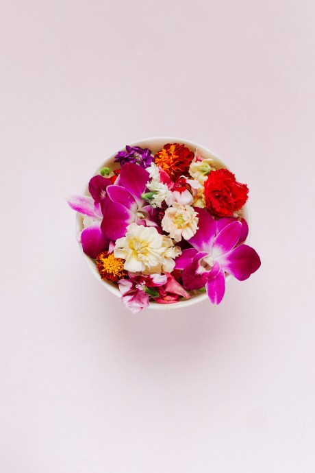 JJ Keras Lifestyle | Edible Flowers